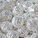 Spacer Beads - Palline in filigrana forate, colori misti