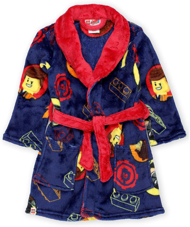 Lego Movie 2 The Second Part Boys Fleece Bathrobe Robe