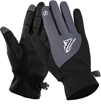 Fishing Gloves Full Finger Waterproof Breathable Keep Warm Touch Screen Design