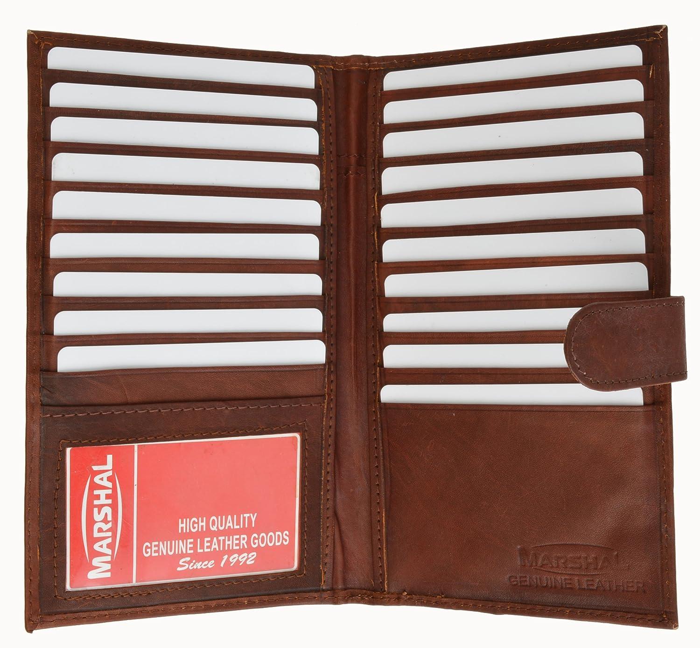 Marshal Genuine Leather Bi-fold Card Holder #1629CF