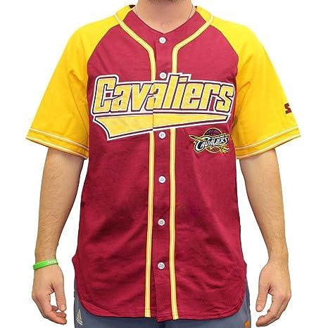 Starter Cleveland Cavaliers NBA Men s Double Play Béisbol Jersey Camiseta, ...