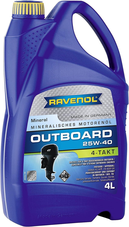 Ravenol Outboardoel 4t Sae 25w 40 Auto