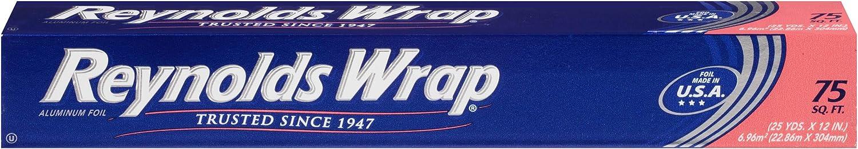 Reynolds Wrap Standard Aluminum Foil, 75 Square Feet
