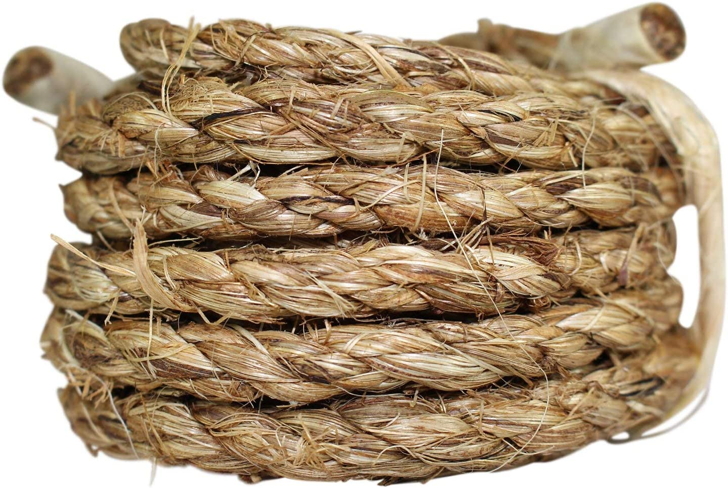 Twisted Manila 3 Strand Natural Fiber Cord Length 10-1200 ft SGT KNOTS Manila Rope 1.25 inch x 10 feet Ropes for Indoor and Outdoor Use Tan Rope//Brown Rope Size 1//4-3 inch