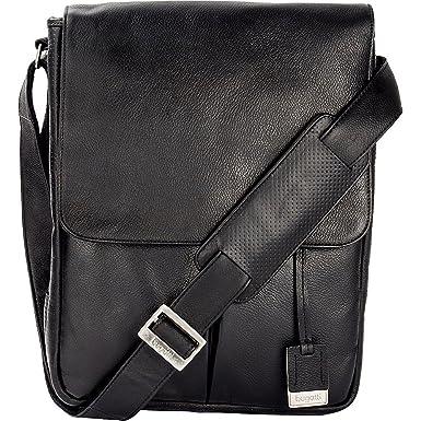 bda2f818e7 Bugatti Soledad Messenger Bag Leather (Black)
