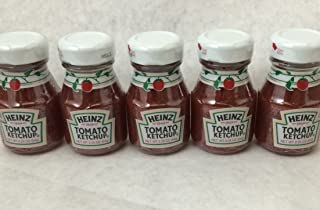 product image for Heinz Ketchup 2.25 Oz Glass Miniatures - (5) Bottles
