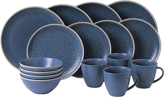New. Gordon Ramsay Maze Grill Hammer Blue Pasta Bowls Set Of 2