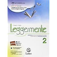 Leggermente. Con La letteratura-Libro delle competenze. Per la Scuola media. Con DVD-ROM. Con e-book. Con espansione online: 2