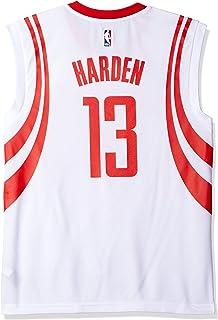 NBA Mens Houston Rockets James Harden Replica Player Home Jersey, 2X-Large, White