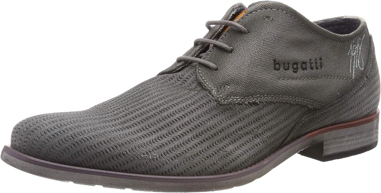 bugatti 311163091400, Zapatos de Cordones Derby para Hombre