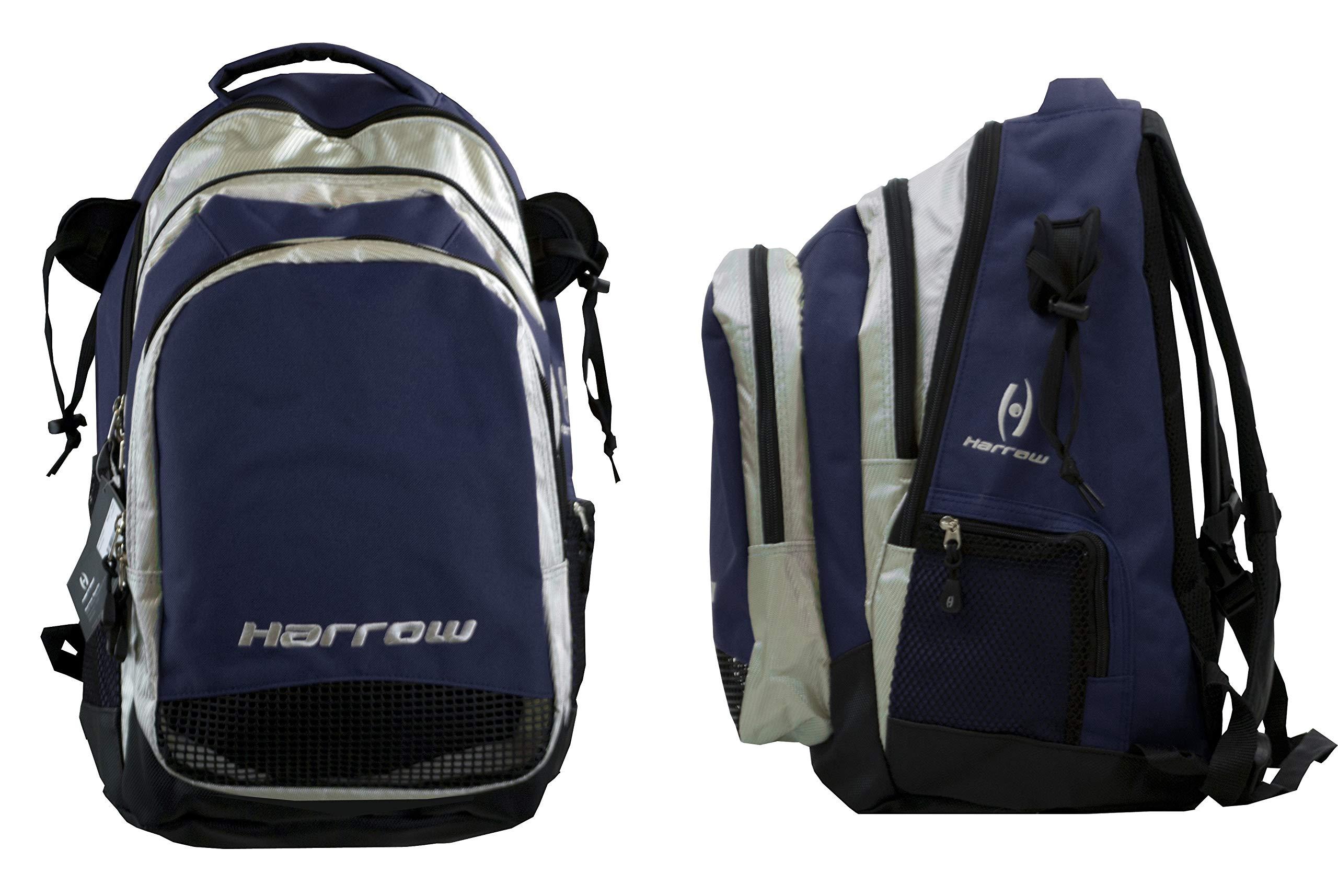 Harrow Elite Backpack, Navy/Silver