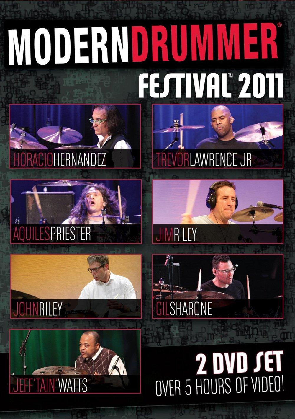 DVD : Aquiles Priester - Modern Drummer Festival 11 (DVD)