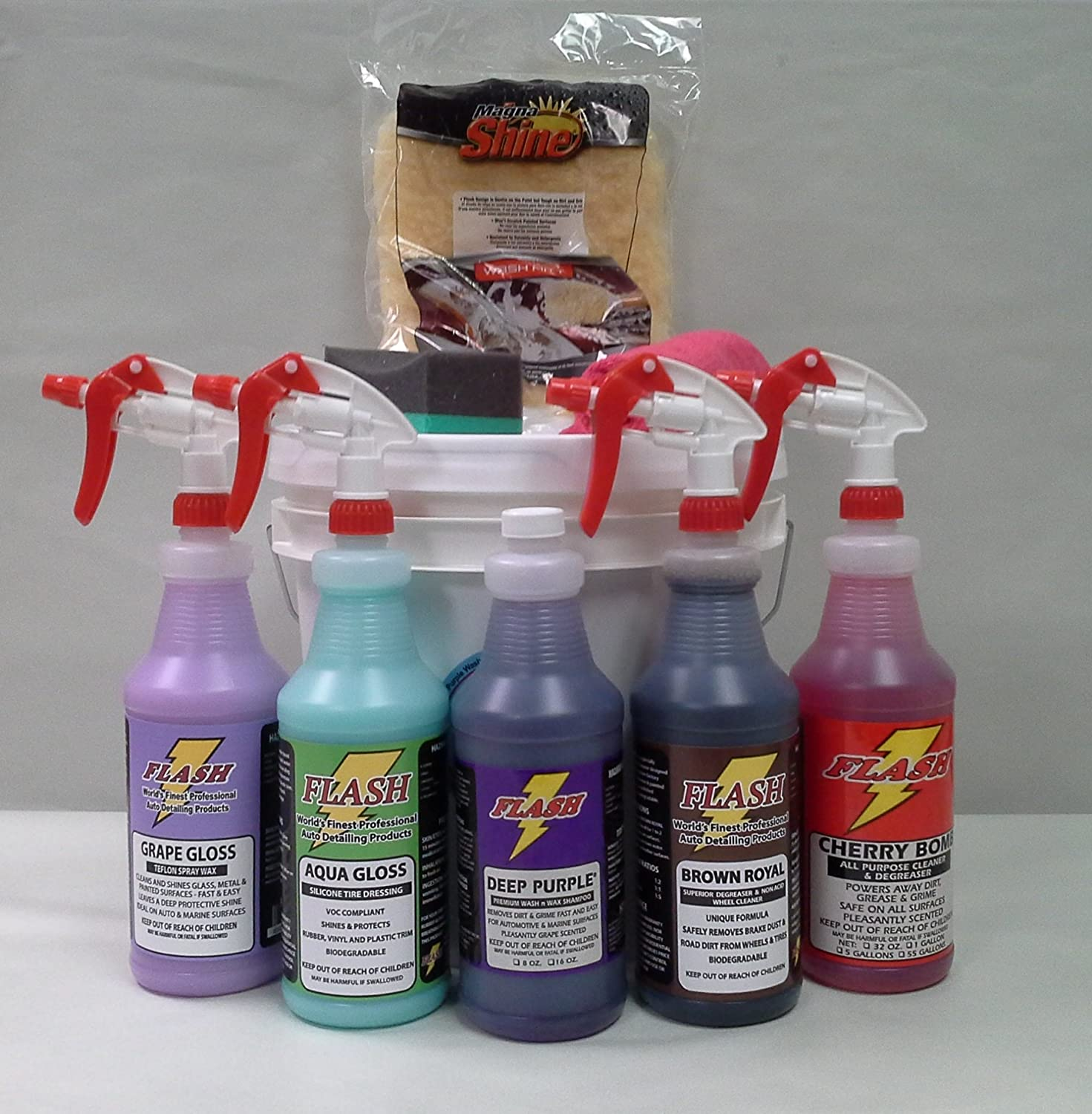 Flash Jumbo Auto Detail Kit Flash Auto Detail Products 4332943686
