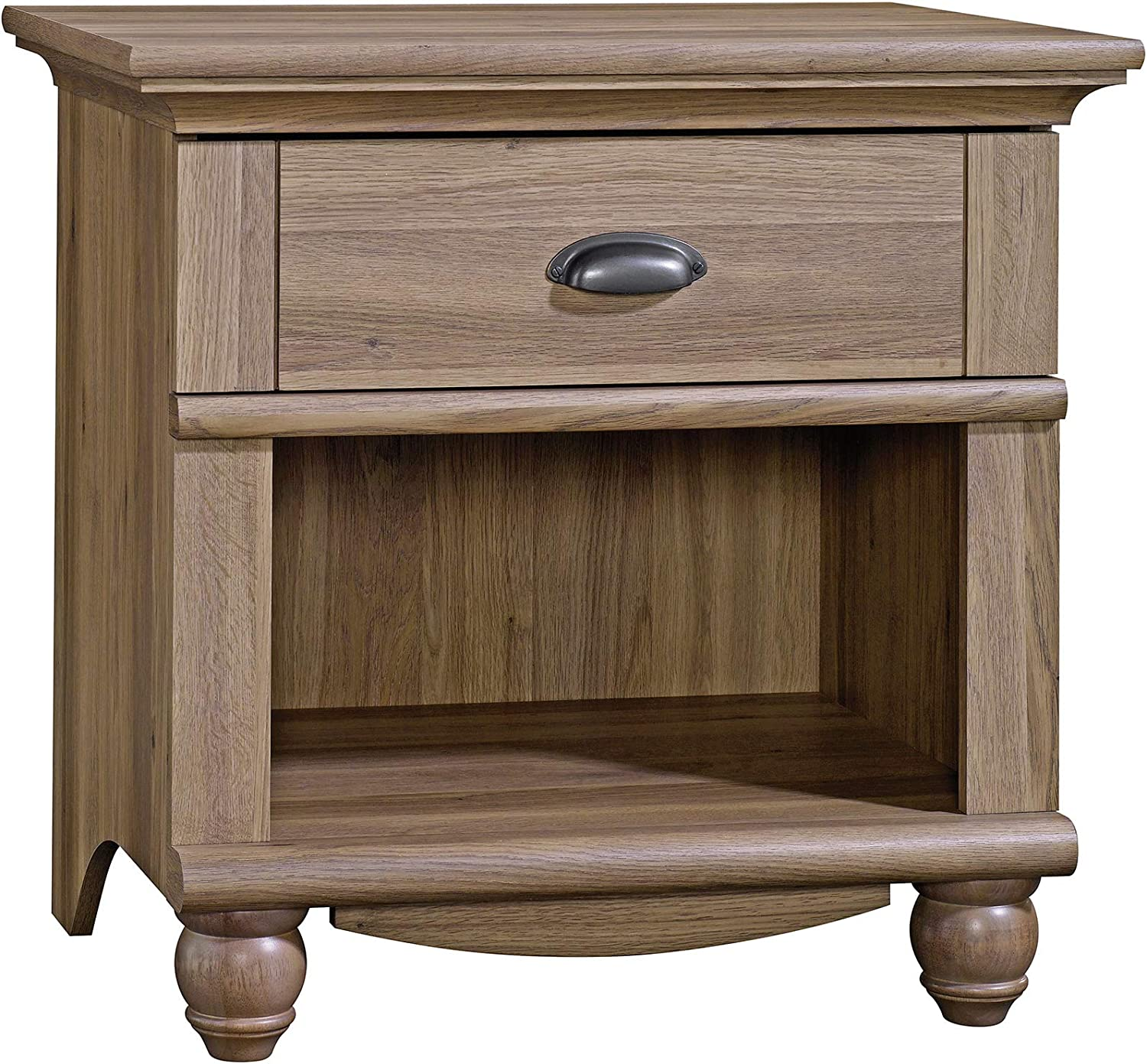 Sauder Harbor View Night Stand, Salt Oak finish