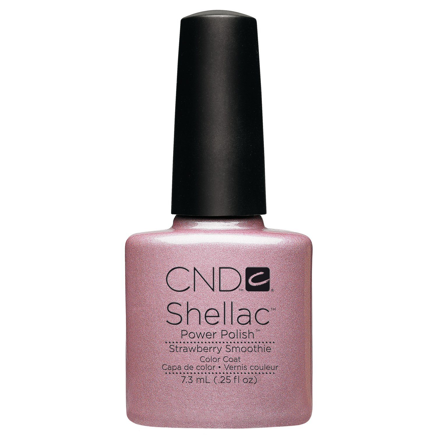 Buy Creative Nail Shellac Strawberry Smoothie 025 Fluid Ounce