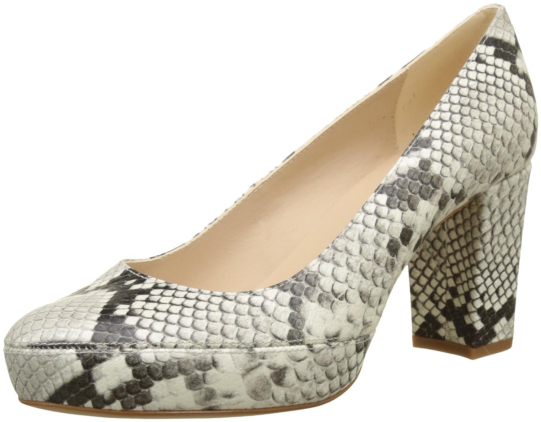 TALLA 38 EU. Unisa Numar_18_vp, Zapatos de tacón con Punta Abierta para Mujer