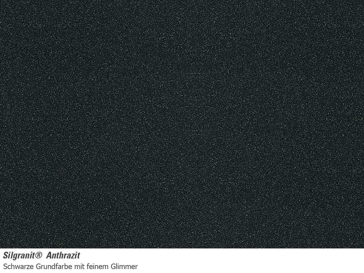 Fregadero de silgranit Color Antracita Blanco subline 500-u 513413