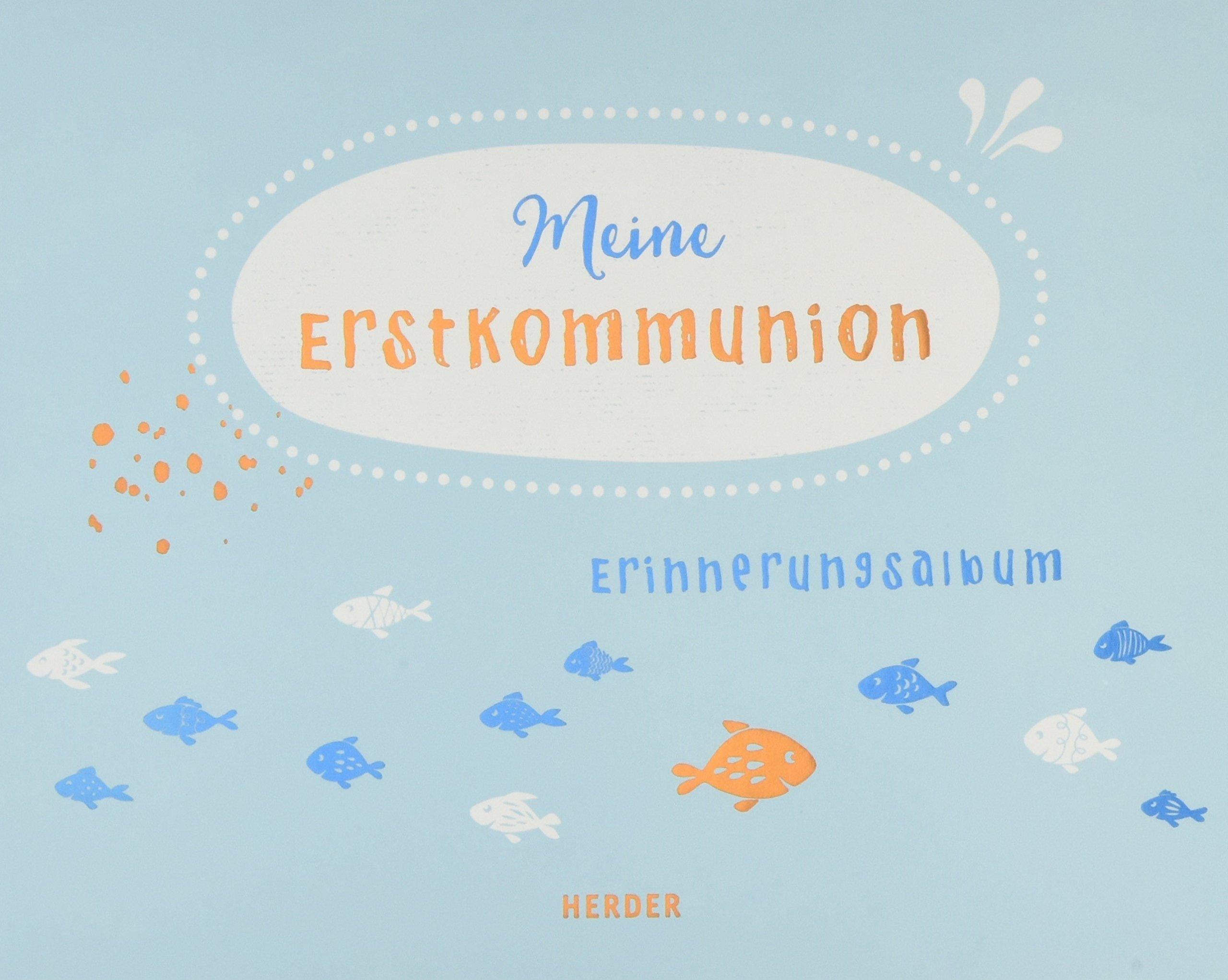 Meine Erstkommunion: Erinnerungsalbum groß