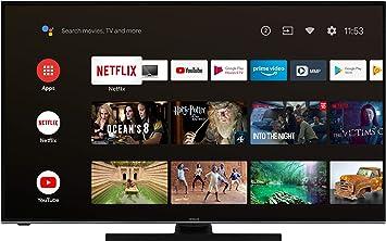 Hitachi U50KA6150 - Televisor de 50 pulgadas (Android 9.0 Smart TV, incluye Prime Video/Netflix/YouTube, 4K UHD + HDR 10, Bluetooth, PVR, sintonizador triple) [Año 2020]: Amazon.es: Electrónica