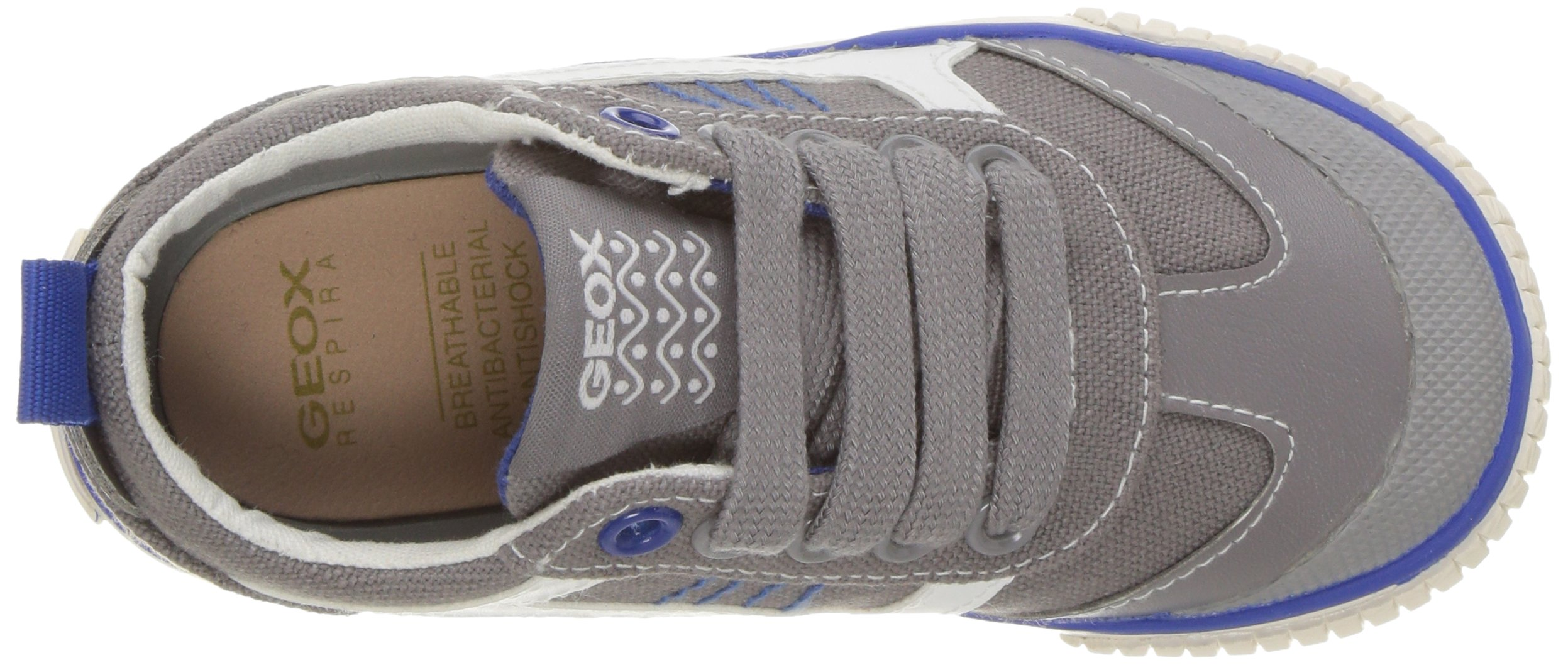 Geox Boys' JR KIWIBOY 89 Slip-On Grey/Royal 36 EU/4 M US Big Kid by Geox (Image #8)