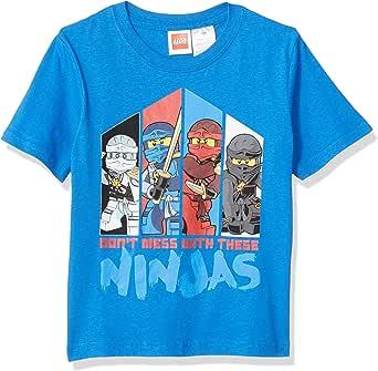 Lego Ninjago Little Boys Don't Mess with The Ninja's T-Shirt