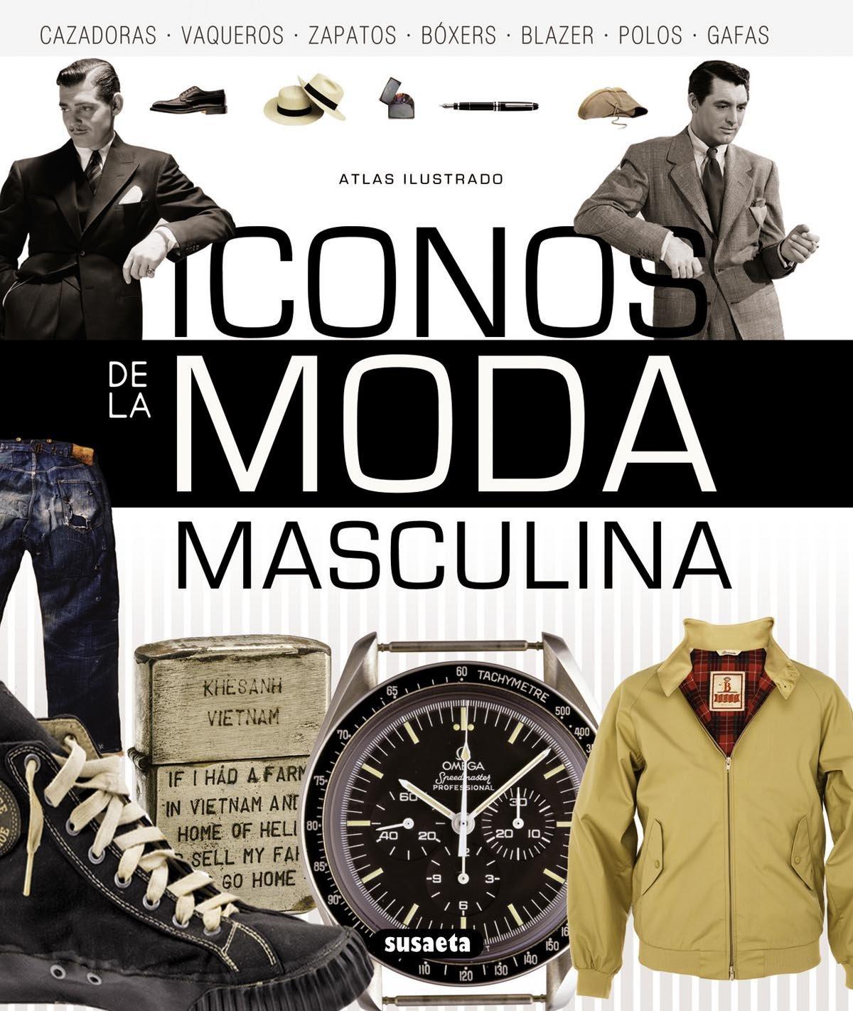 Atlas ilustrado de iconos de la moda masculina: Josh Sims: 9788467722727: Amazon.com: Books