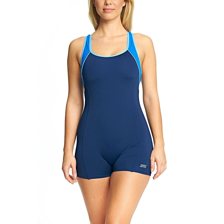 Zoggs Torquay Legsuit Donna, Blu Marina, 52 IT 173708144