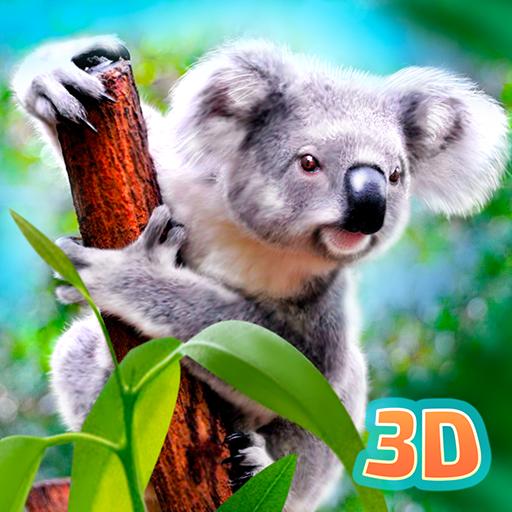 Amazon Com Koala Simulator Wildlife Game Cute Little Bear Eucalyptus Tales Appstore For Android