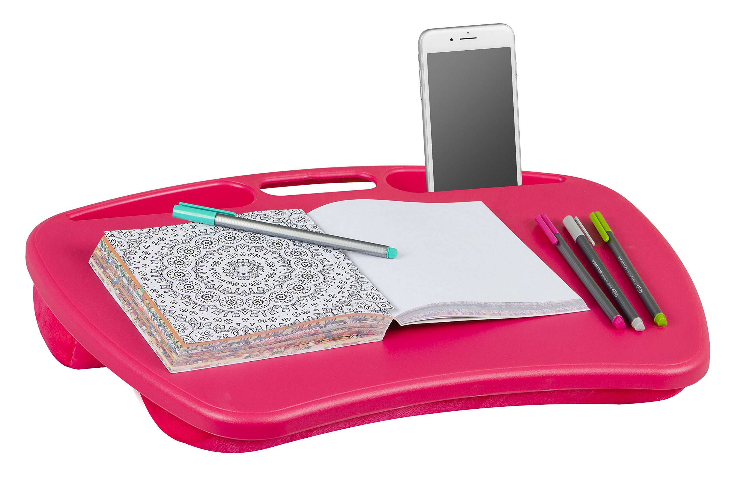 LapGear MyDesk, Pink (Fits up to 15.6'' Laptop)