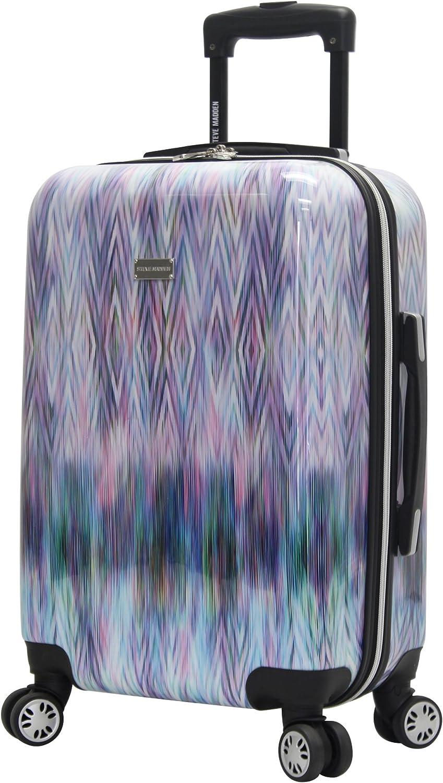 """Steve Madden Hard Case Carry On 20"""" Spinner Luggage (Diamond)"""