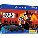 Sony PS4 Slim 1TB Console (Free Game: Red Dead II Redemption)