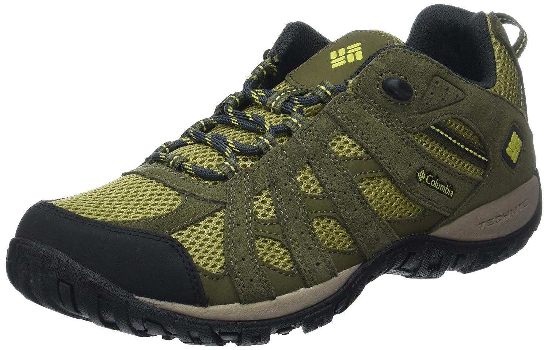 Columbia Redmond, Zapatillas de Trekking para Hombre 44 EU Verde (Cool Moss/Ginkgo 910)