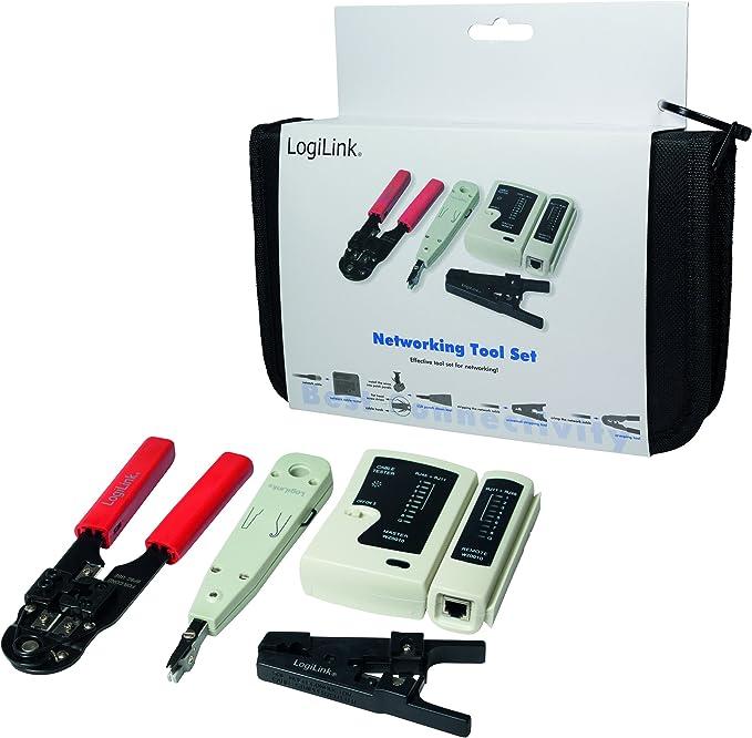 LogiLink Networking Tool Set - Kit de Montaje para Cables Ethernet ...