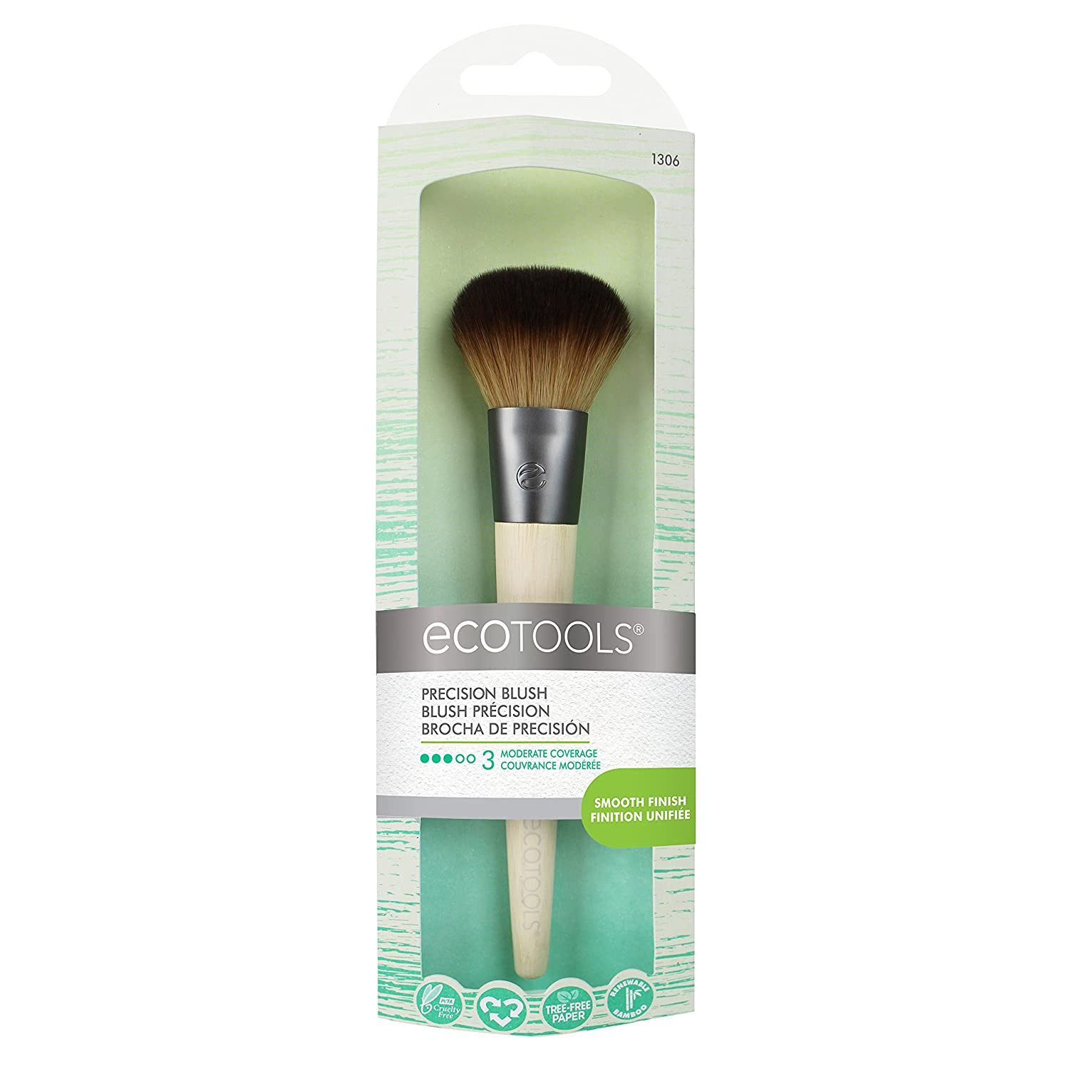 EcoTools Precision Blush Brush, 1-Count 1306
