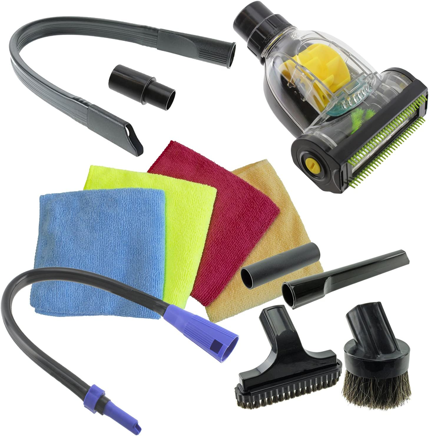 35mm Hoover Vacuum Cleaner Kit Crevice Stair Brush Tool for Numatic Henry Hetty