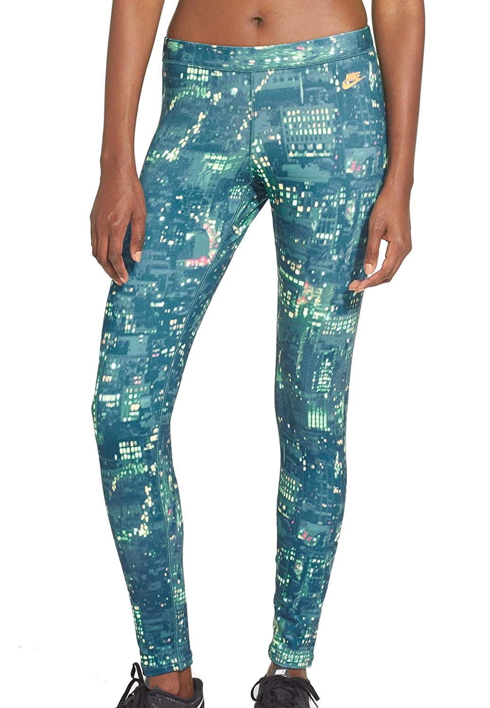 c9def65778436 NIKE Womens City Print Leggings at Amazon Women's Clothing store: