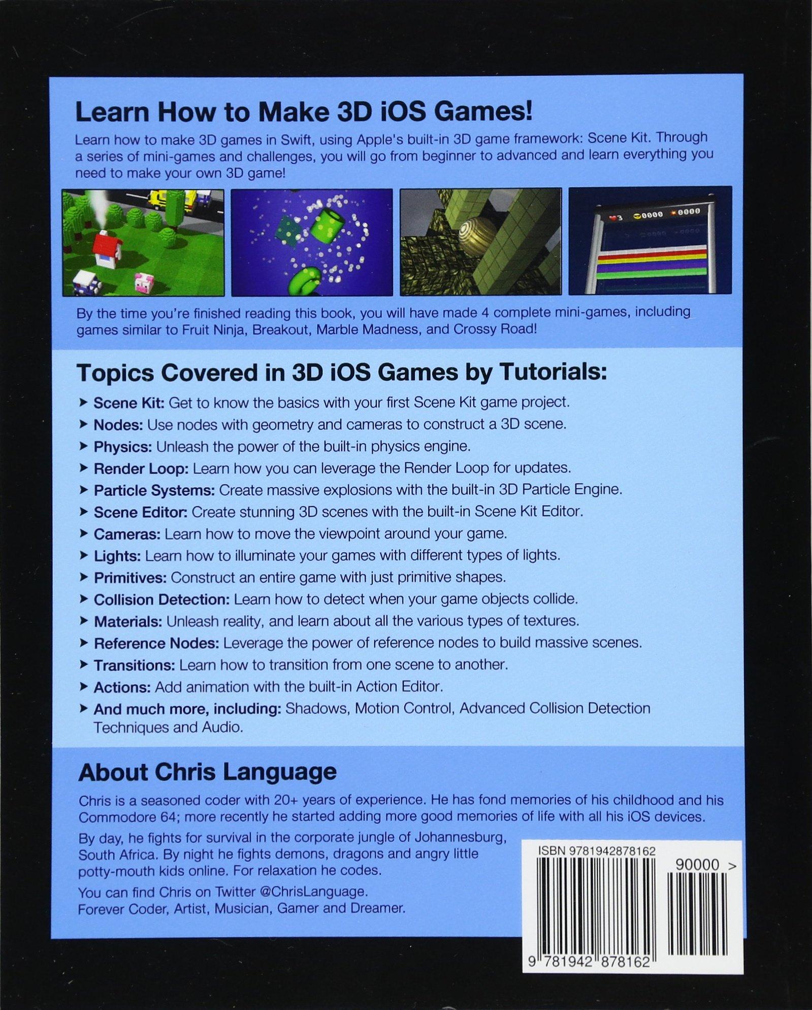 3D iOS Games by Tutorials: Beginning 3D iOS Game Development
