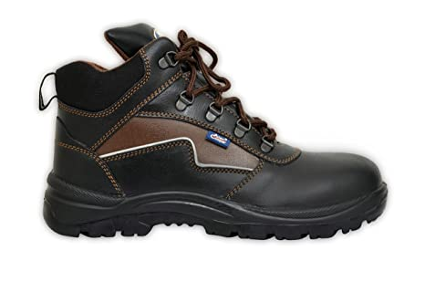utterly stylish top design quality design Allen Cooper AC 1170 Hi-Ankle Safety Shoe (Size 8 UK/India ...