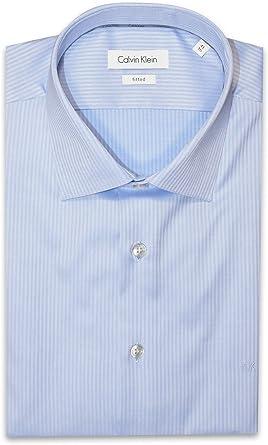 Calvin Klein - Camisa Formal - Cuello Normal - para Hombre ...