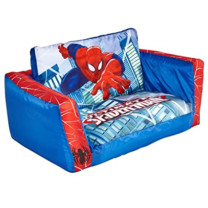 Beau Spiderman Flip Out Sofa