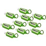 Hand Sanitizer Gel Travel Size, 10 Pack Mini Pocket Size Gel Sanitizer Keychains, Antibacterial Disinfectant Kills Germs