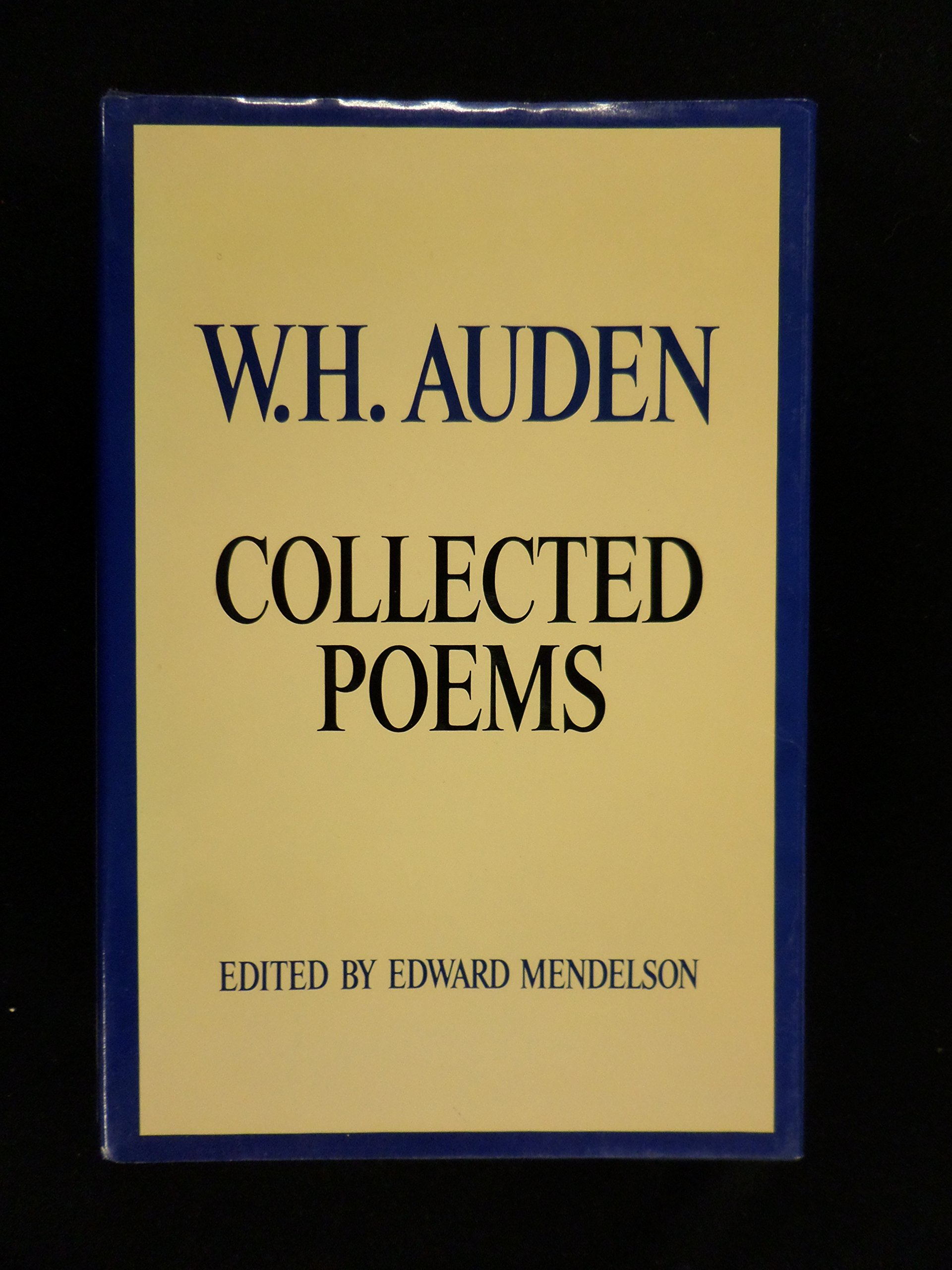 Buy W H Auden Collected Poems Book Online At Low Prices In