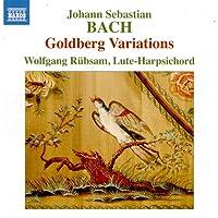 Bach: Goldberg Variations [Wolfgang Rübsam] [Naxos: 8573921]