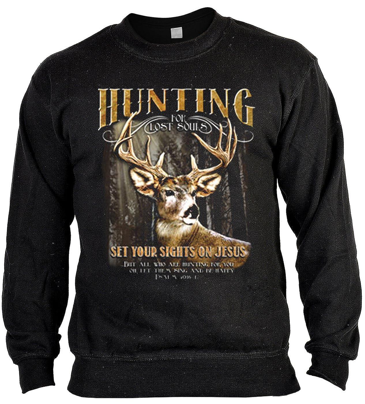 Jagd Pullover für Jäger Sweater Hunting for lost souls Artikel für ...