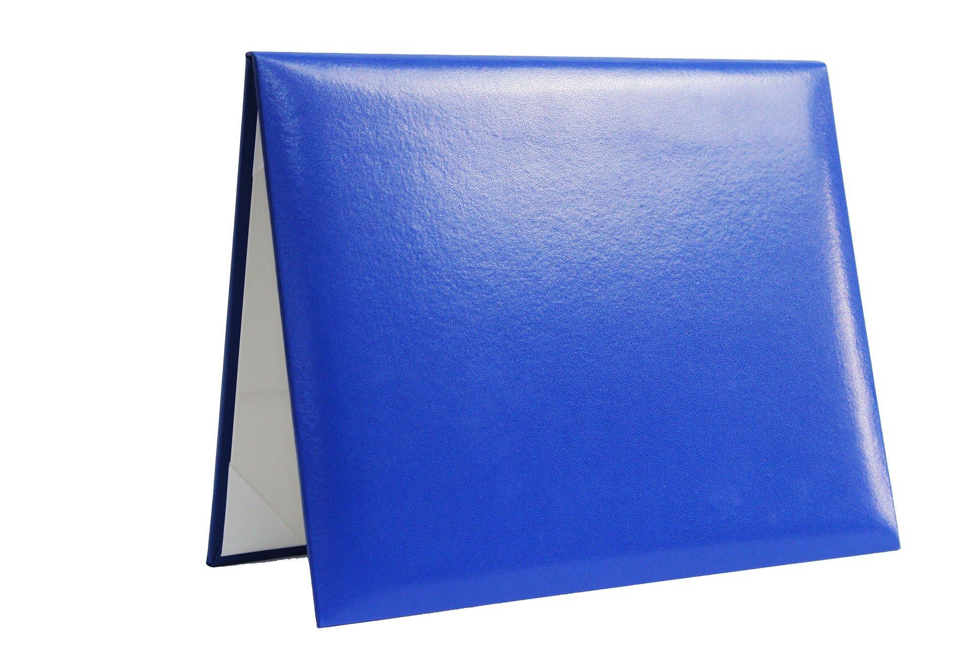 GradPlaza Royal Blue Smooth Diploma Cover 8 1/2''x11