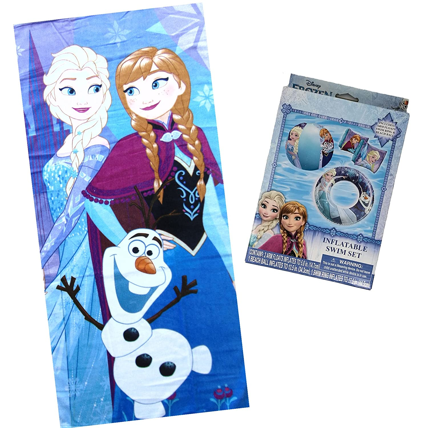 Disney Frozen Beach Towel Elsa Anna Bath Towel Frozen Love Cotton 30x60