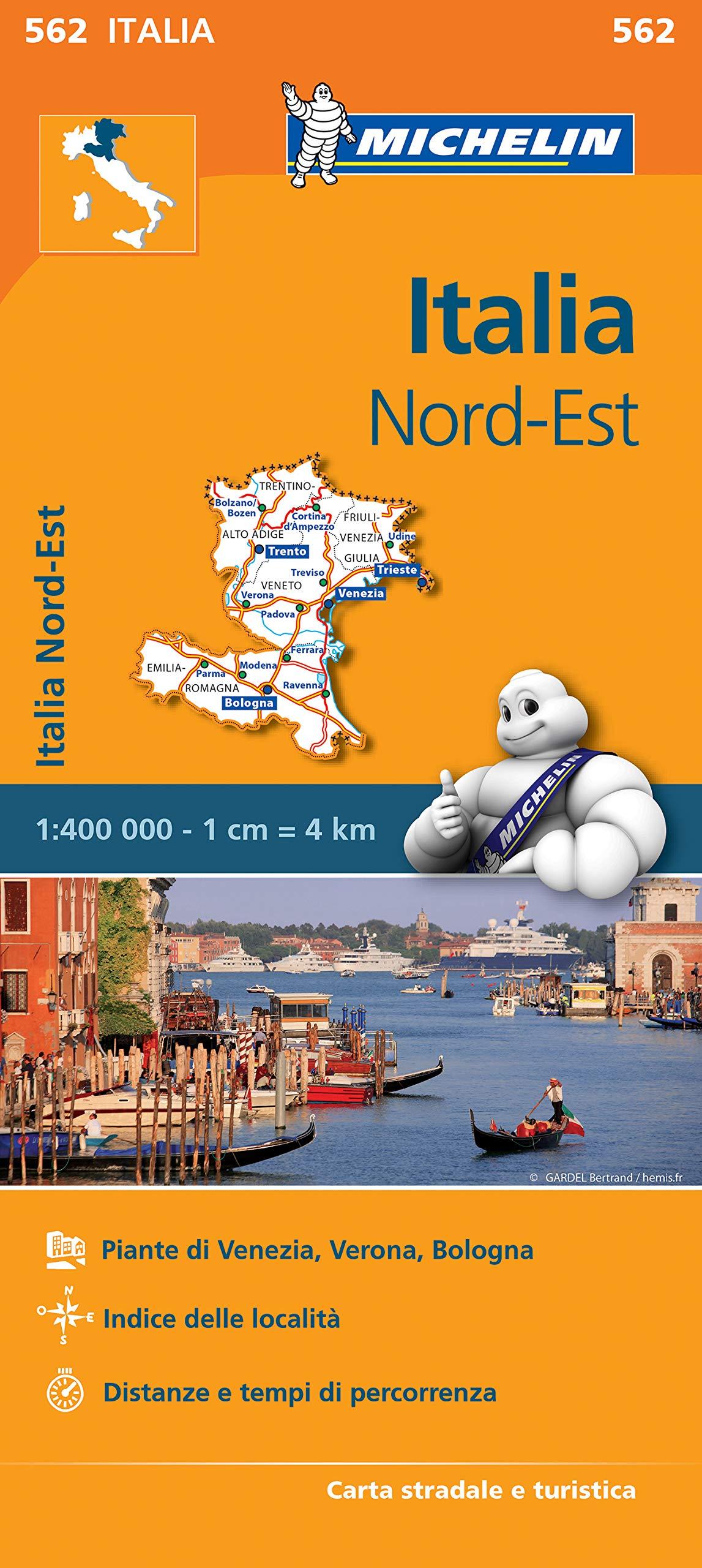 Cartina Stradale Italia Nord Est.Amazon It Carta Stradale Italia Nord Est Aa Vv Libri