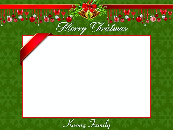 large custom christmas decorations photo booth frame prop jingle bells xmas photo prop