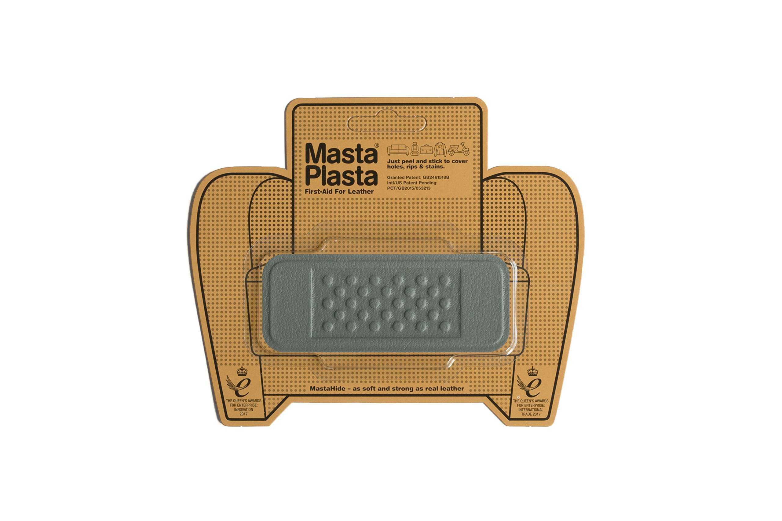 MastaPlasta Self-Adhesive Patch for Leather and Vinyl Repair, Bandage, Gray - 4