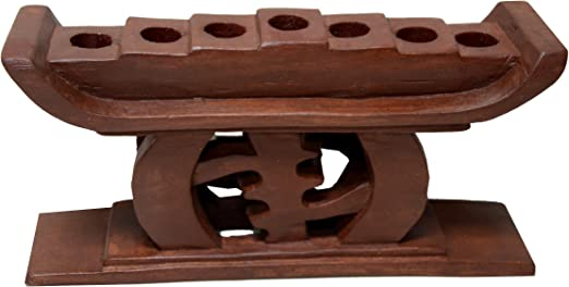 Kwanzaa Gye Nyame portavelas (marrón) – hecho en Ghana: Amazon.es: Hogar